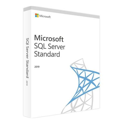 Microsoft SQL Server 2019 Standard (Nowa licencja / 1 stanowisko / Wieczysta)