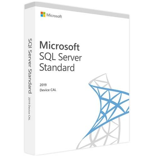 Microsoft SQL Server 2019 Standard | 10 Device CALs (Nowa licencja / 1 stanowisko / Wieczysta)