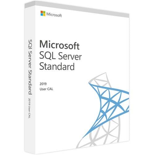 Microsoft SQL Server 2019 Standard | 1 User CAL (Nowa licencja / 1 stanowisko / Wieczysta)