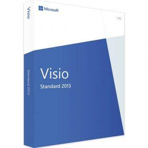 Visio 2013 Standard (Nowa licencja / 1 stanowisko / Wieczysta)