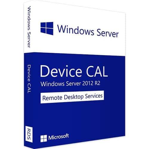 Windows Server 2012 R2 RDS | 10 Device CALs (Nowa licencja / 1 stanowisko / Wieczysta)