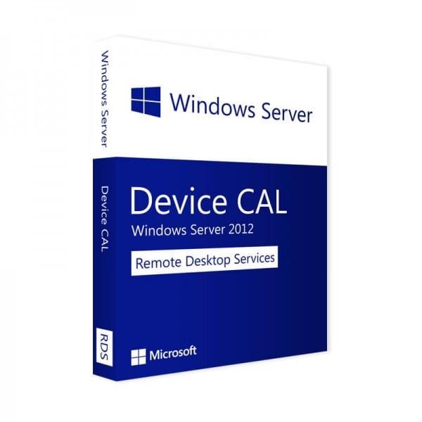Windows Server 2012 RDS | 1 Device CAL (Nowa licencja / 1 stanowisko / Wieczysta)