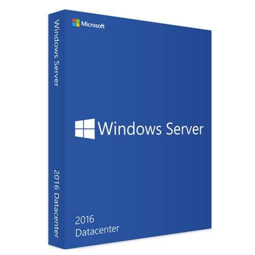 Windows Server 2016 Datacenter  (Nowa licencja / 1 stanowisko / Wieczysta)