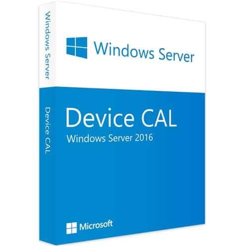 Windows Server 2016 | 10 Device CALs (Nowa licencja / 1 stanowisko / Wieczysta)