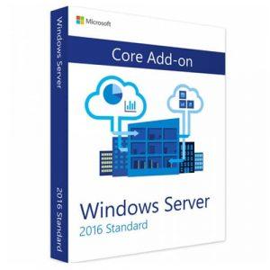 Windows Server 2016 Standard 2 Core Add-on (Nowa licencja / 1 stanowisko / Wieczysta)