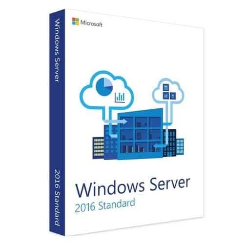 Windows Server 2016 Standard  (Nowa licencja / 1 stanowisko / Wieczysta)