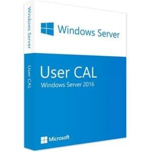 Windows Server 2016 | 1 User CAL (Nowa licencja / 1 stanowisko / Wieczysta)