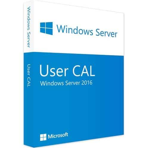 Windows Server 2016 | 10 User CALs (Nowa licencja / 1 stanowisko / Wieczysta)