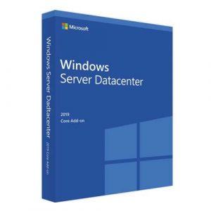 Windows Server 2019 Datacenter Core Add-On (Nowa licencja / 1 stanowisko / Wieczysta)