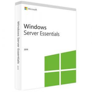 Windows Server 2019 Essentials (Nowa licencja / 1 stanowisko / Wieczysta)