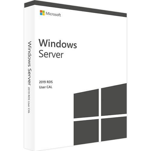 Windows Server 2019 RDS | 10 User CALs (Nowa licencja / 1 stanowisko / Wieczysta)
