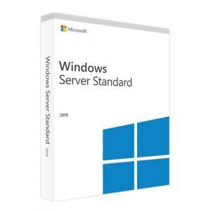 Windows Server 2019 Standard  (Nowa licencja / 1 stanowisko / Wieczysta)