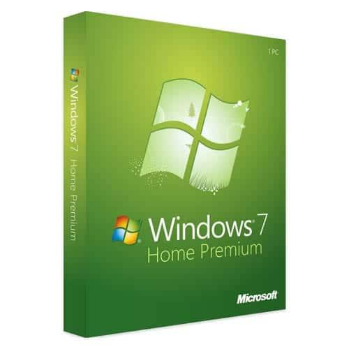 Windows 7 Home Premium (Nowa licencja / 1 stanowisko / Wieczysta)