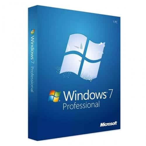 Windows 7 Professional (Nowa licencja / 1 stanowisko / Wieczysta)
