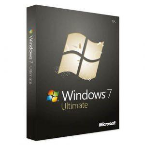 Windows 7 Ultimate (Nowa licencja / 1 stanowisko / Wieczysta)