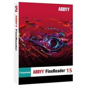 ABBYY FineReader 15 Corporate (Nowa licencja / 1 stanowisko / Wieczysta)