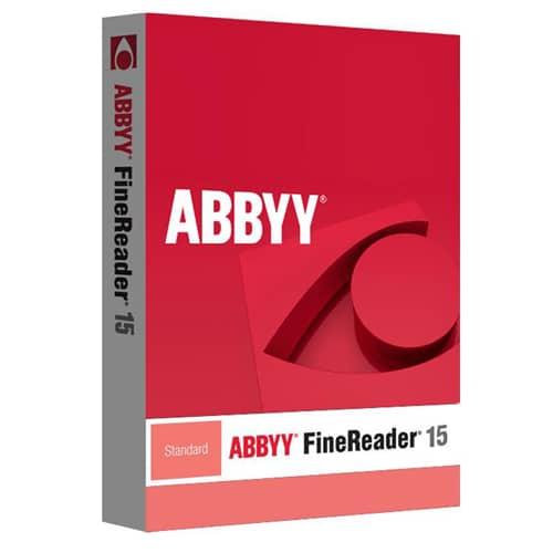 ABBYY FineReader 15 Standard (Nowa licencja / 1 stanowisko / Wieczysta)